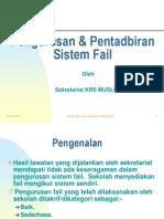 Pengurusan+Fail+KRS+MUSLEH