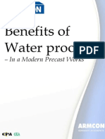 Benefits of Waterproofer in Precast