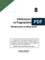 ESP Learner Module-Grade 8