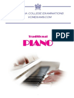 Traditional Piano Syllabus 2014