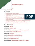 Antraweb Technologies Pvt. Ltd.