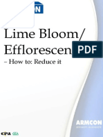 How to Reduce Lime Bloom