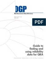 Risk Assesment Data Directory