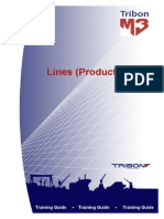 Tribon M3 Training Lines (Production)