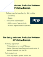 LP3:The Galaxy Industries Production Problem
