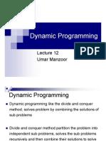 L-13 Dynamic Programming