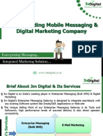 Enterprise Messaging and Integrated Digital Marketing Company-3m Digital