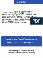 Parallel processing -Openfoam