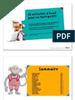 2013-Livret-popi - Activités d'Éveil Des Tout-petits