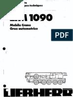 110 Ton LTM 1090 Liebherr 5 Axles