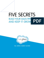 5 Secrets Build Your Sales Pipeline