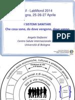 Evoluzione Dei Sistemi Sanitari LabMond2014 (Prof Stefanini)