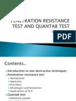 Windsor Probe and Quantab Test