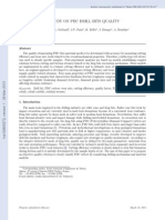 Study of PDC Cutter Durability