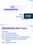 Chapter 2 - Dimensioning