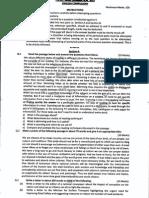 PSCSCC Mains 2013 English Paper