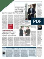 25.01.2014 Corriere Ve Ed. Verona_vega in Crisi Immobili in Vendita Per Far Cassa e Chiudere i Debiti