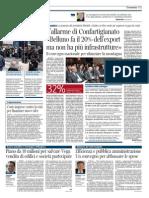 20140121 Corriere Ve_piano Da 10 Milioni Per Salvare Vega