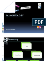 DUA Ontology - Sample Queries