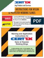 0 Nylon Sling Warning English1