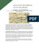 Principais Fatos Históricos Do Povo de Israel