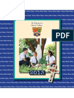 St Henry's Yearbook 2013