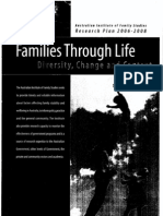 FAMILIES through life_diversity, change and context