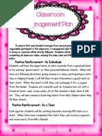 classroommanagementplan2ndgrade