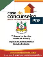 Apostila TJ.oj2014 LegislacaoAdministrativa PedroKuhn