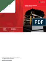 Higher Degrees Handbook