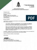 TIEA agreement between France and Cayman Islands