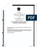 DTC agreement between United Arab Emirates and Kenya
