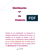 "Distribución ""t"" de Students"