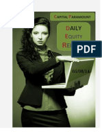 Daily Equity Report 5aug by CapitalParamount