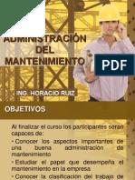 Administración Del Mantenimiento (PRESENTACION)