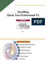 install QTP 9.2