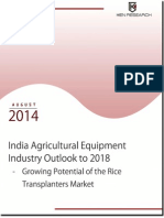 India Agricultural Equipment Industry Trends and Future Prospects
