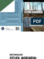Metodologi Studi Agraria
