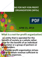 NPO Financial Statements