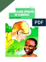 Suzanne Pairault Infirmière 23 La Grande Épreuve de Florence 1985