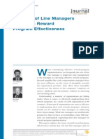 The Role of Line Managers in HR Effectiveness (WorldatWork Journal Q2 2008)