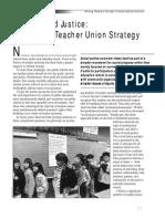 Rethinking Teacher Union Strategy