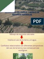 Estructura Del Paisaje y Manejo de Recursos Naturales PPT