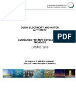 Water Planning- Guidelines for New Dev Projects Issue 2 Rev. 2-Update 2013