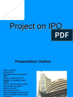 Project on IPO