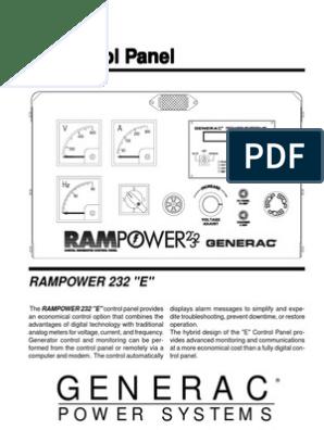 Generac EPanel | Switch | Computer Engineering