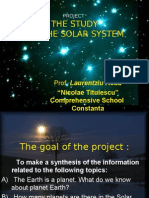 PROJECT Solar System 2009