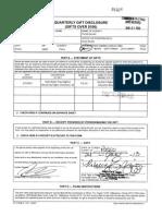 John Legg 2013 Form 9