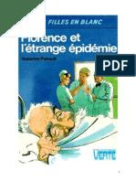 Suzanne Pairault Infirmière 19 Florence Et l'Étrange Épidémie 1981