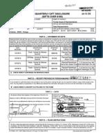 Joseph Saunders 2013 Form 9